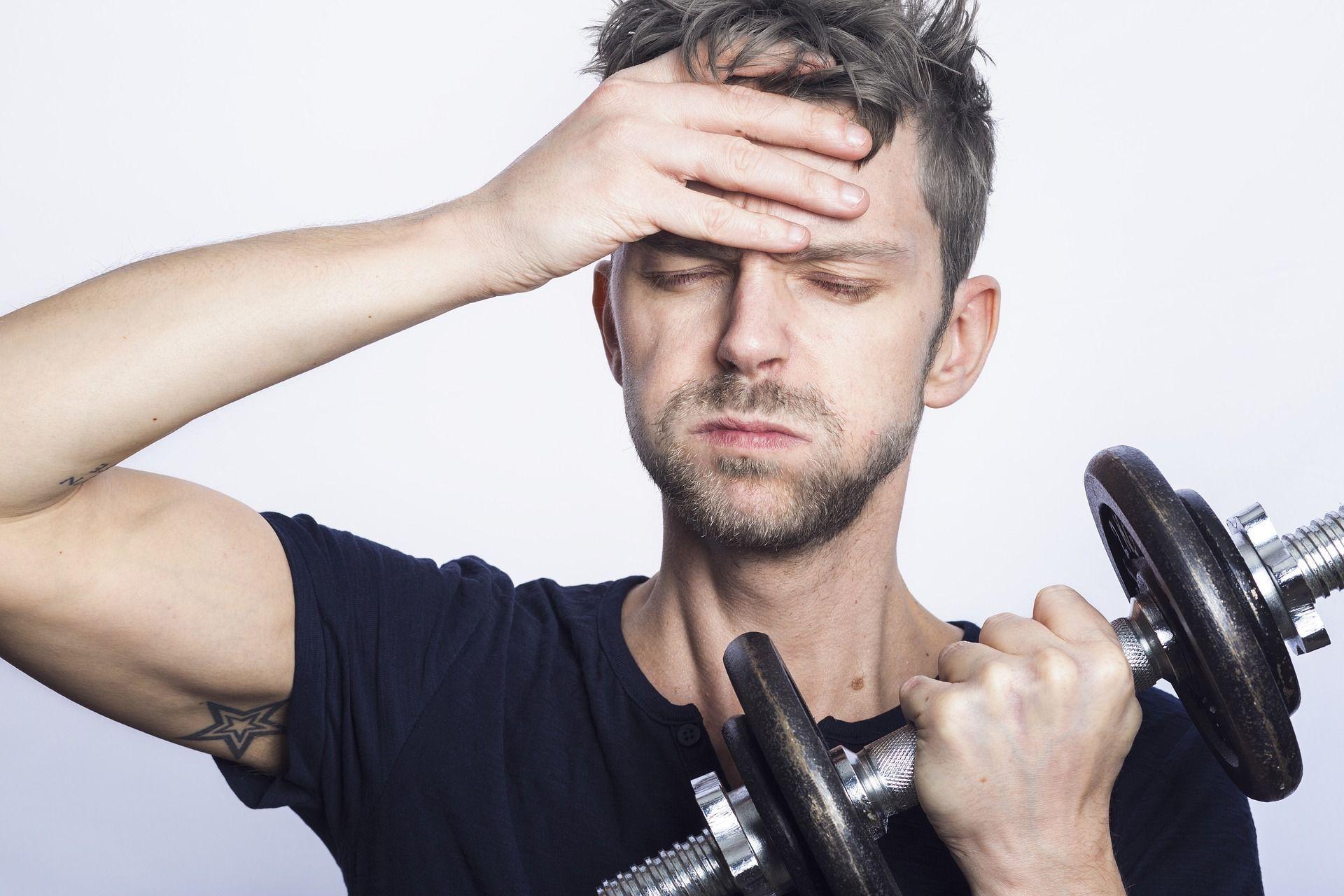 Mentaler Stress und Krafttraining